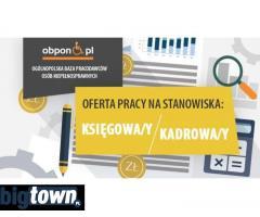 Księgowa/y – Kadrowa/y - praca stacjonarna w Gdańsku